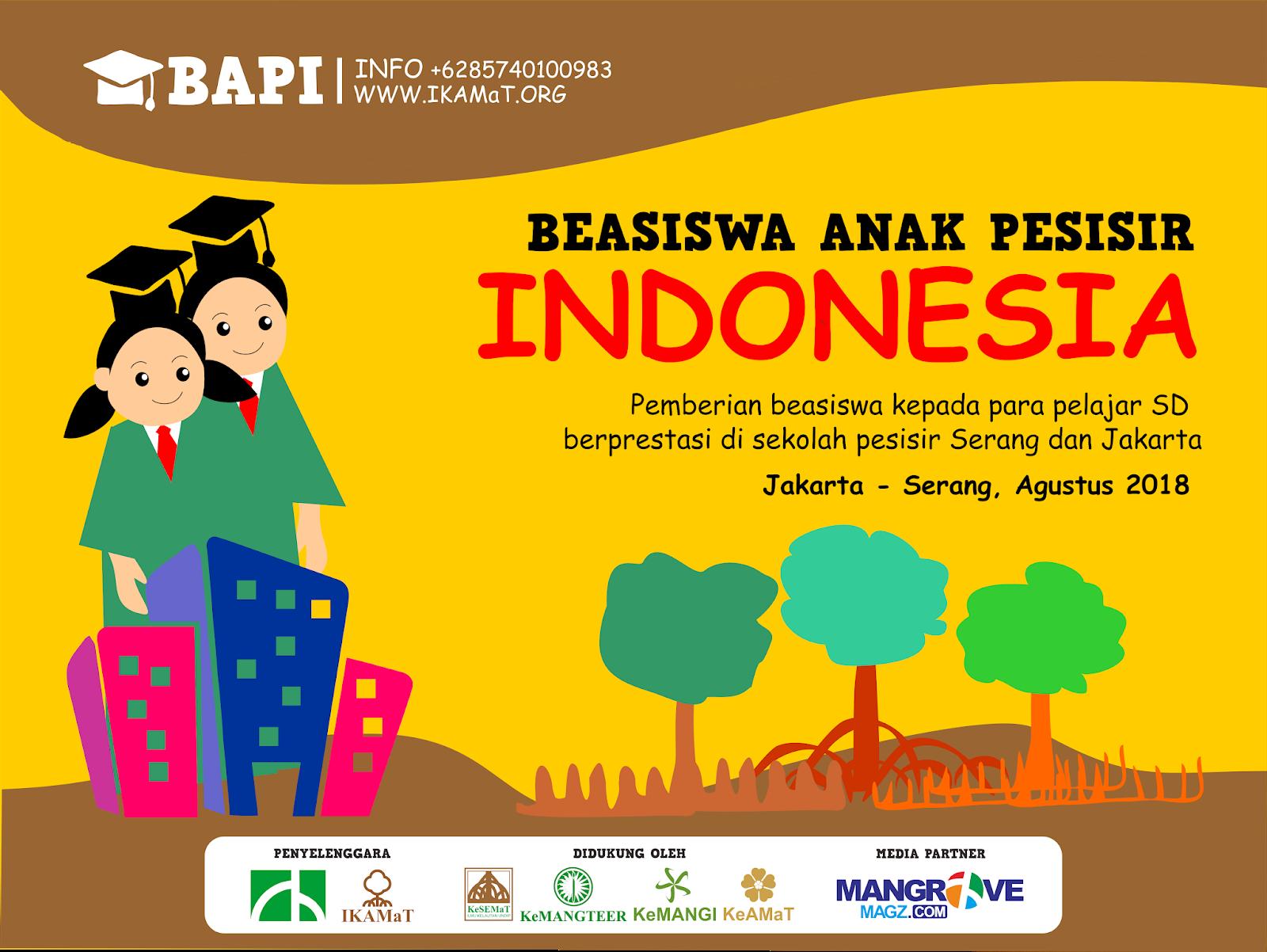 Press Release Beasiswa Anak Pesisir Indonesia 2018
