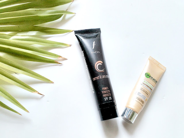 Faces CC Cream Vs Garnier BB Cream: comparison, review, swatches
