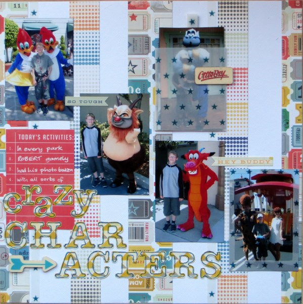 Jimjams - Layout - Crazy Characters RHS - for SJ Crafts