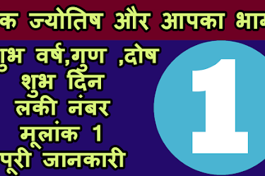 Numerology in Hindi -Numerology number 6 - Abhishek Bhatnagar