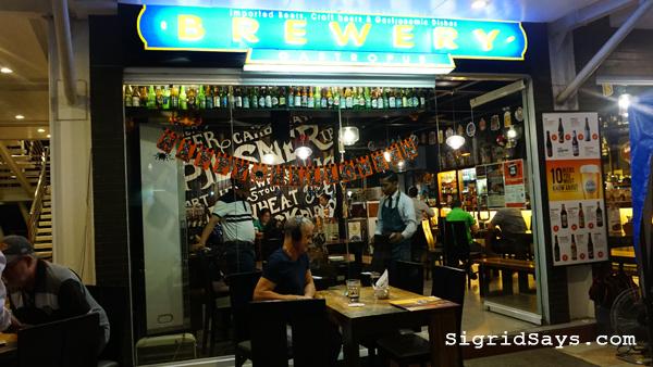 Brewery Gastropub Iloilo restaurant - beef brisket