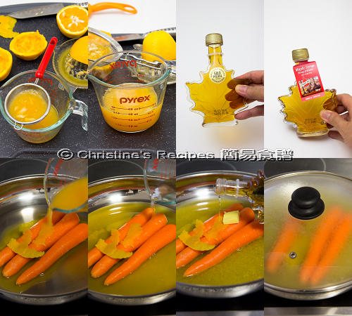 Orange Glazed Carrots Procedures