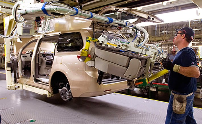 Los empleadores en el sector construcción, manufactura y comercio reportan las intenciones de contratación más fuertes en el país. (Foto: Toyota)