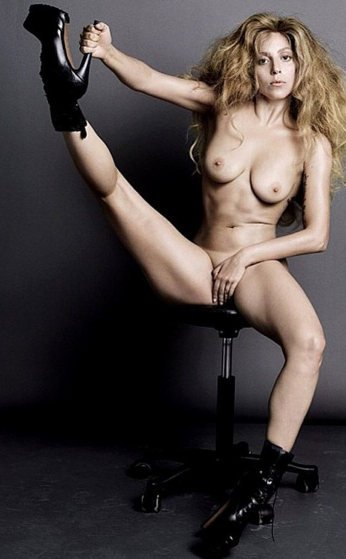 Lady Gaga Pussy Shot
