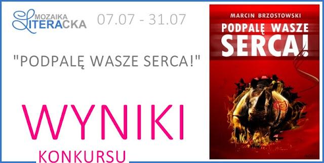 """WYNIKI KONKURSU """"PODPALĘ WASZE SERCA!"""""""