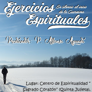Ejercicios espirituales del 3 al 5 de marzo
