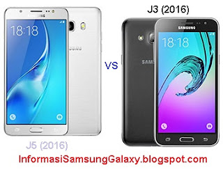 Perbandingan Samsung Galaxy J5 (2016) vs J3 (2016)
