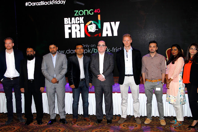 Zong Partners With Daraz to Bring Zong 4G Black Friday Sale 2016
