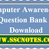 Computer Awareness Question Bank Download