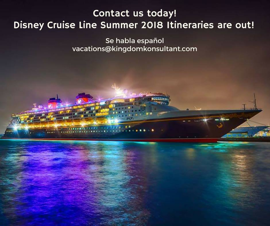 Deals on disney cruises 2018
