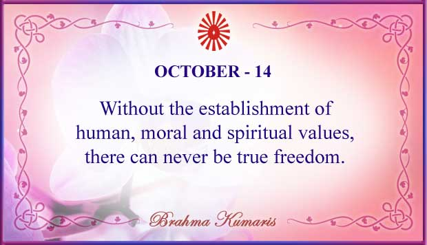 Thought For The Day October 14