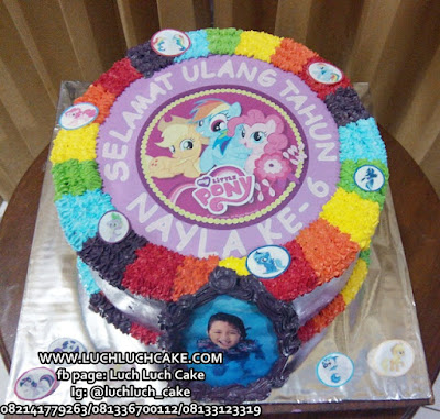 Birthday Cake Edible Image My Little Pony
