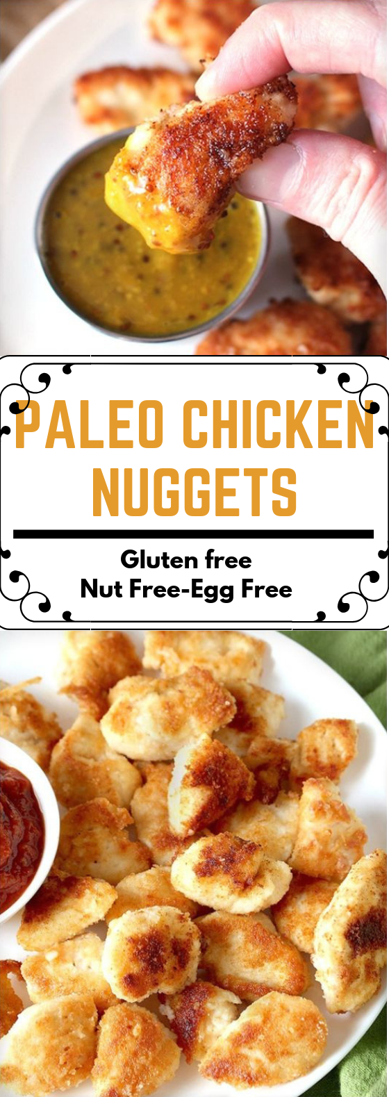 PALEO CHICKEN NUGGETS #DietFood #Glutenfree
