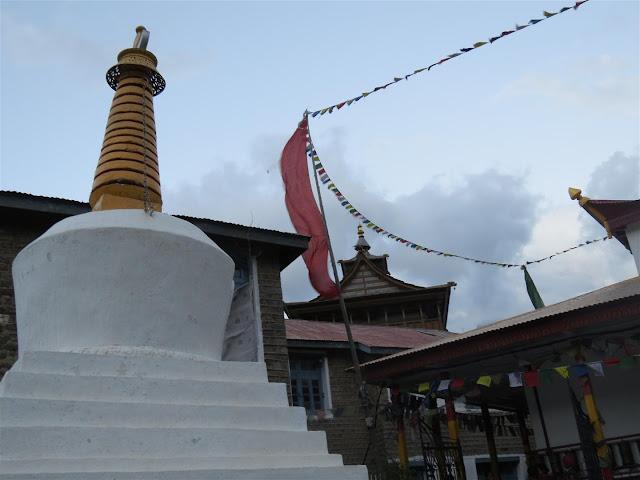 Stupa at Kalpa