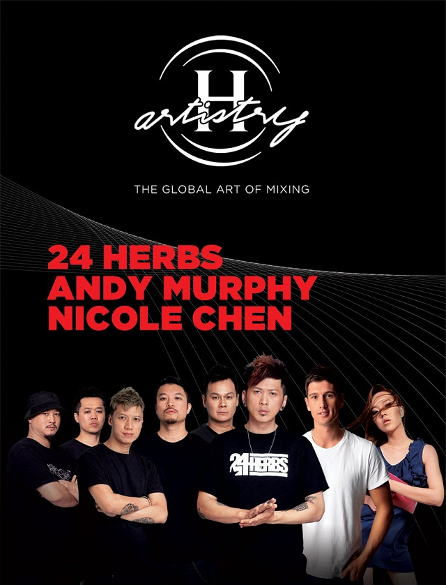 The artiste lineup for H-Artistry 2013