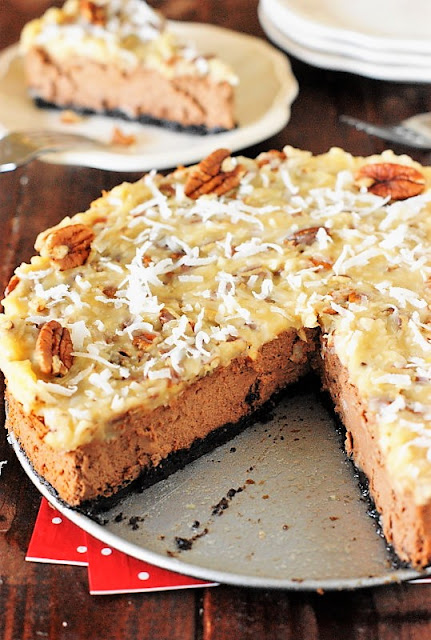 German Chocolate Cheesecake Image