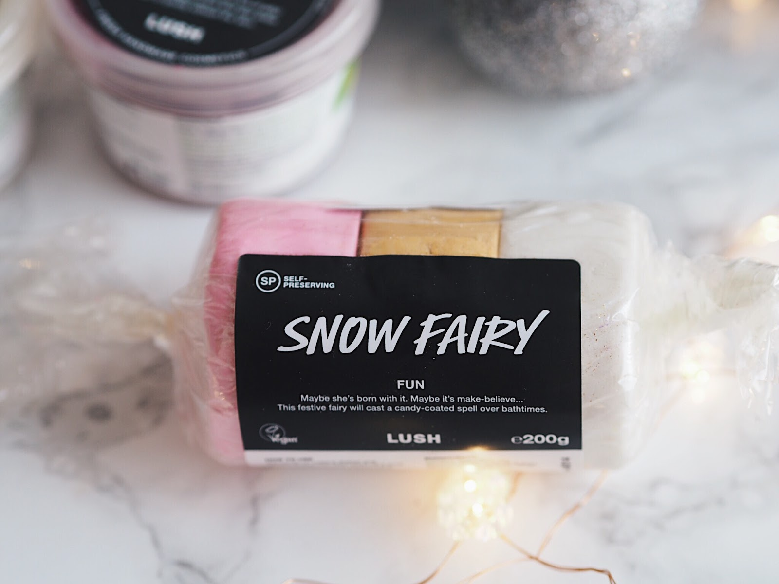 lush christmas 2017 snow fairy fun