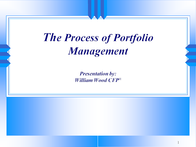 Download The Process of Portfolio Management pdf