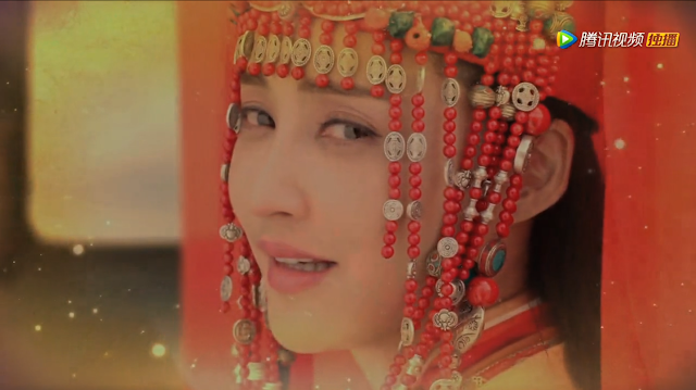 Zhang Xinyi in Chinese historical drama Princess Jieyou