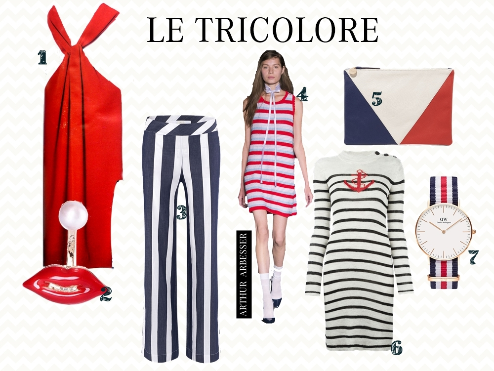 DREIHEIT - Le Tricolore posted by Annie K, Fashionbloggerin, founder and writer of ANNIES BEAUTY HOUSE