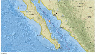 6.5 quake strikes Gulf of California near Mexico