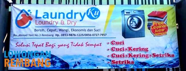 lowongan laundryku rembang