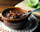 At Last Black Bean Soup