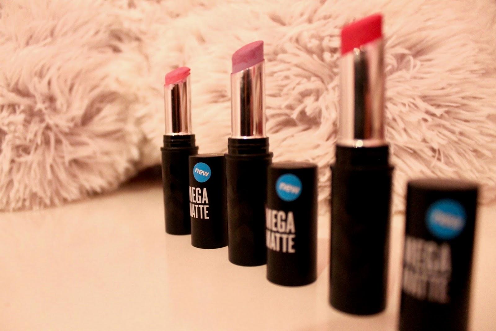 Seventeen Pastel Matte Lipsticks