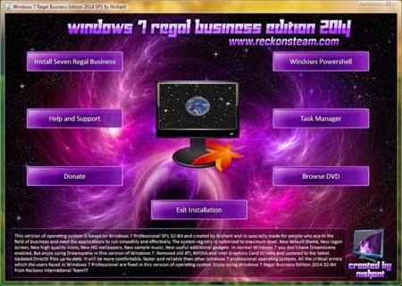 Microsoft windows 7 sp1 super lite incl windows 7 loader by daz.