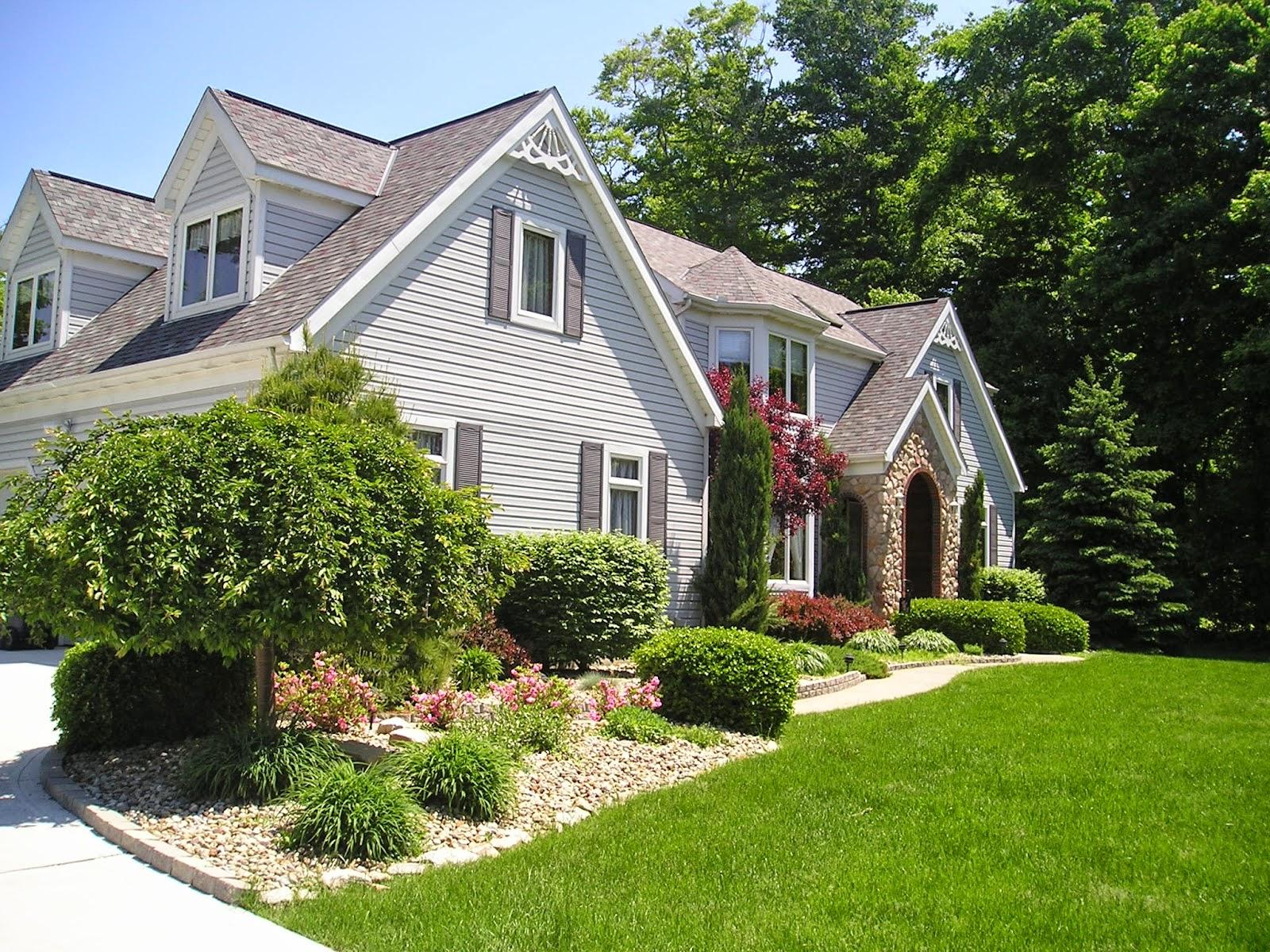 Landscape Designs Front House