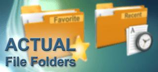Actual File Folders 1.12 Multilingual Full Crack