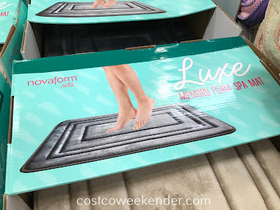 Costco 995260 - Sleep Innovation Novaform Luxe Memory Foam Spa Mat: easy to clean, built to last and so so comfortable