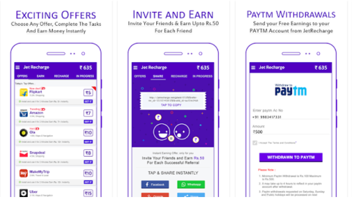 Jet Recharge® Free Recharge Mobile App - Youth Apps - Best Website