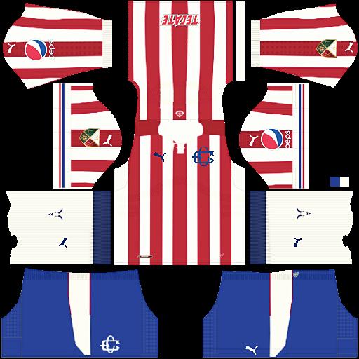 78a20da03 Resultado de imagen para kit chivas 110 años dream league soccer