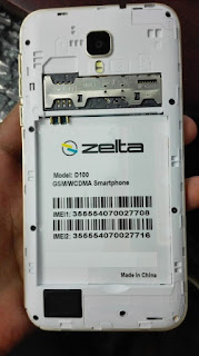 Zelta D100 Flash File download | MT6572 Stock Firmware File
