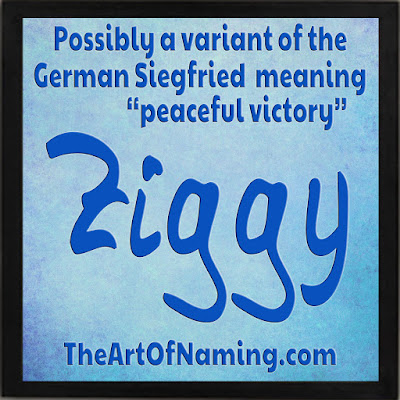 Names meaning peace - victorious baby names - ziggy marley