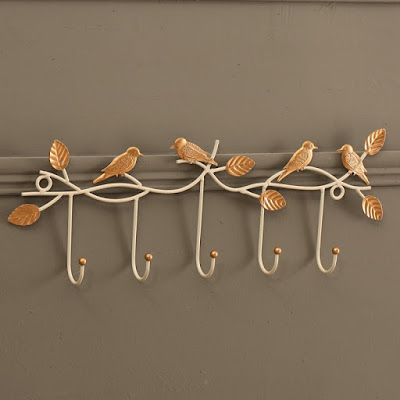 How to maximize the use of coat hooks