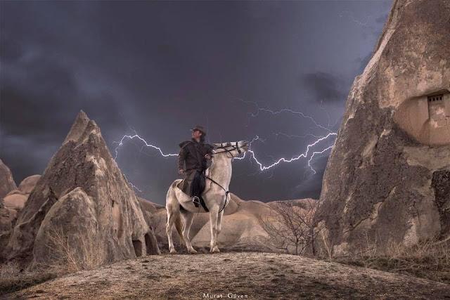 kapadokya at, cappadocia horse