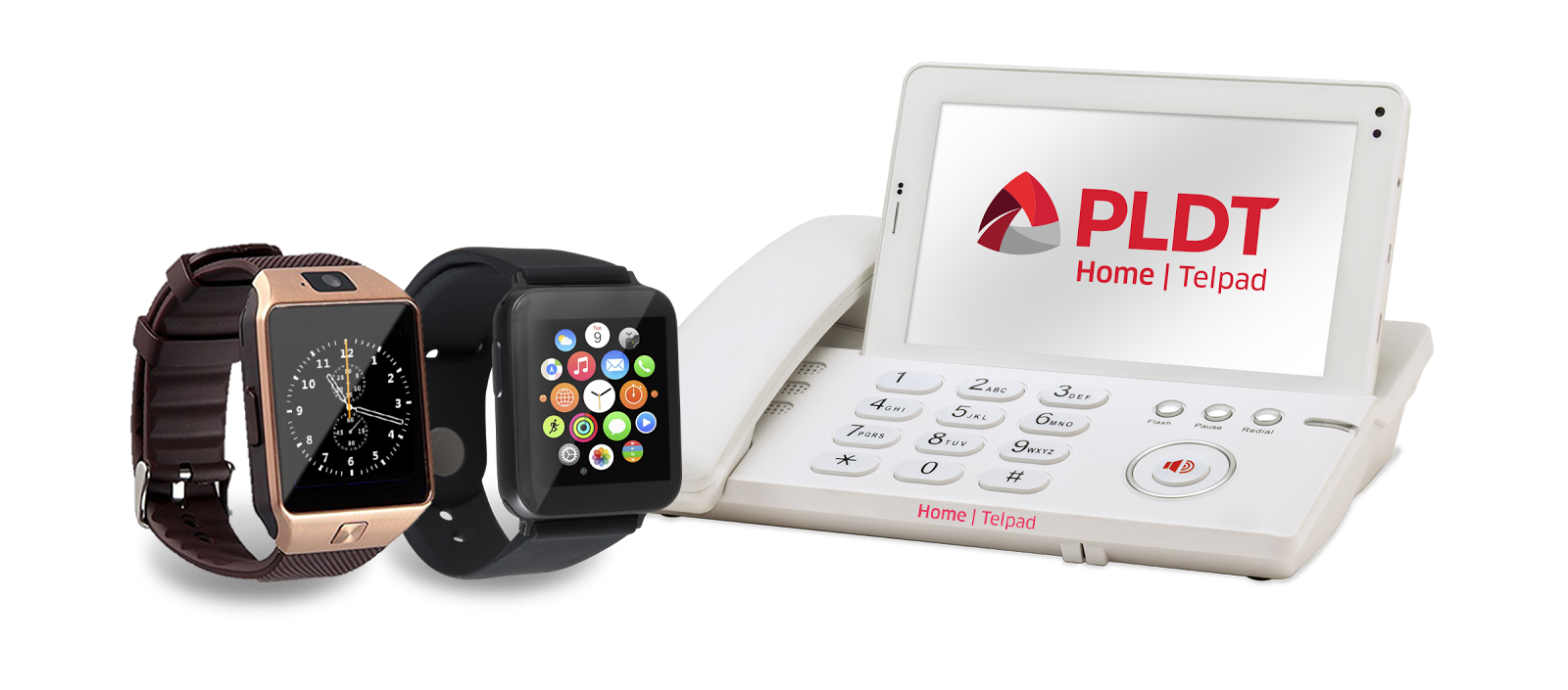 Telpad and Smart Watch