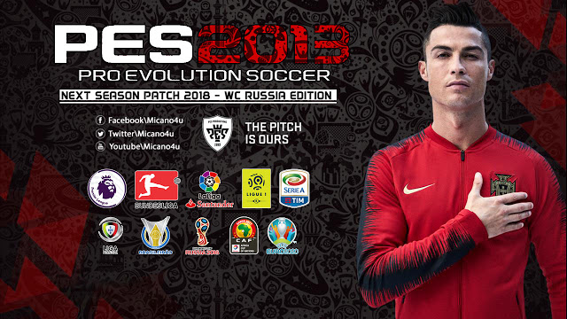 2a4d1a17ae9 PES 2013 Next Season Patch World Cup 2018 Russia Edition