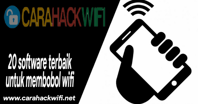 20 Software untuk membobol wifi terampuh