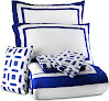 Utopia Bedding Queen Bedroom Set, Blue (8-Piece)
