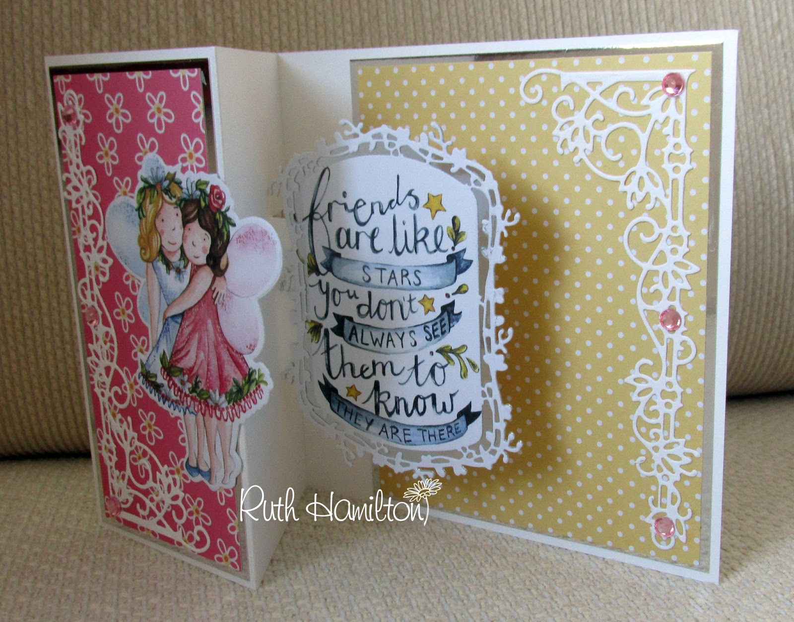 A Passion For Cards: How to make a 3D pop up card with the