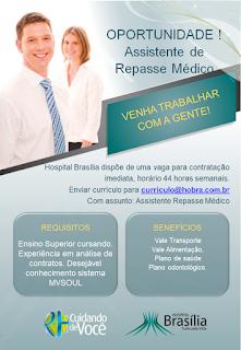 Assistente de Repasse Médico