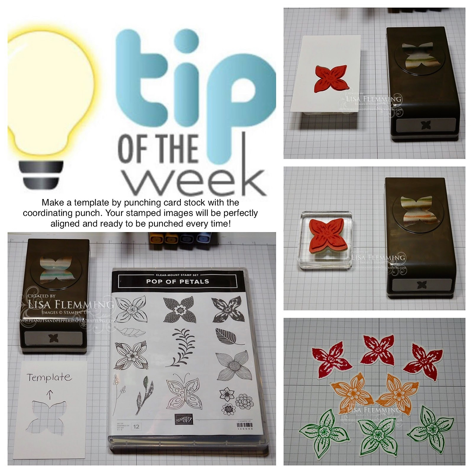 Peanuts And Peppers Papercrafting Tuesday Tip Punch Templates