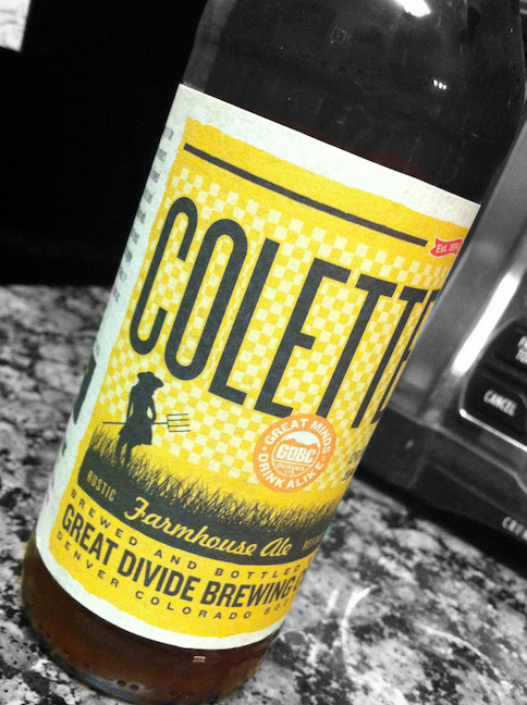 4fe63bcffc gulp! beer blog.  Great Divide Brewing Company - Colette Farmhouse Ale