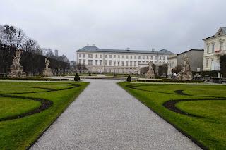 Schloss Mirabell o Palacio de Mirabell.