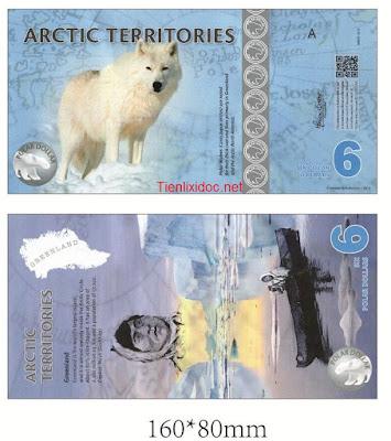 Tiền con chó bắc cực