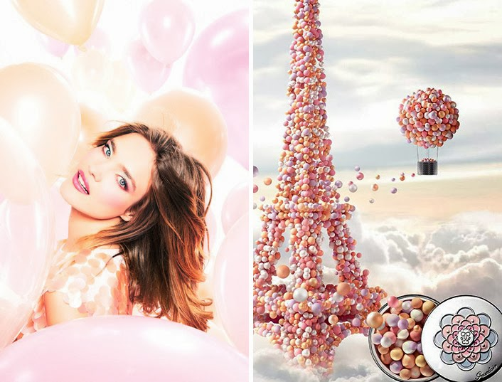Guerlain make up spring 2014 Météorites Blossom Collection