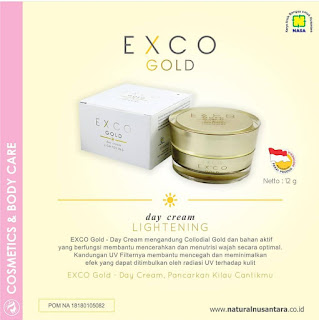 HARGA EXCO GOLD DAY AND NIGHT CREAM